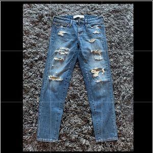 Abercrombie & Fitch distressed denim jeans 25 (0)